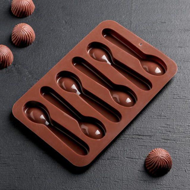 Форма для шоколада «Ложечки»