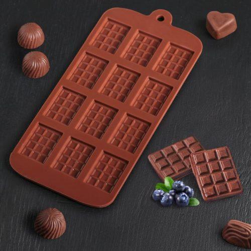 Форма для шоколада «Мини-плитки»