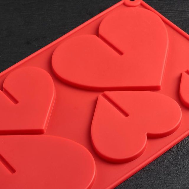Форма для шоколада 3D «Сердце»
