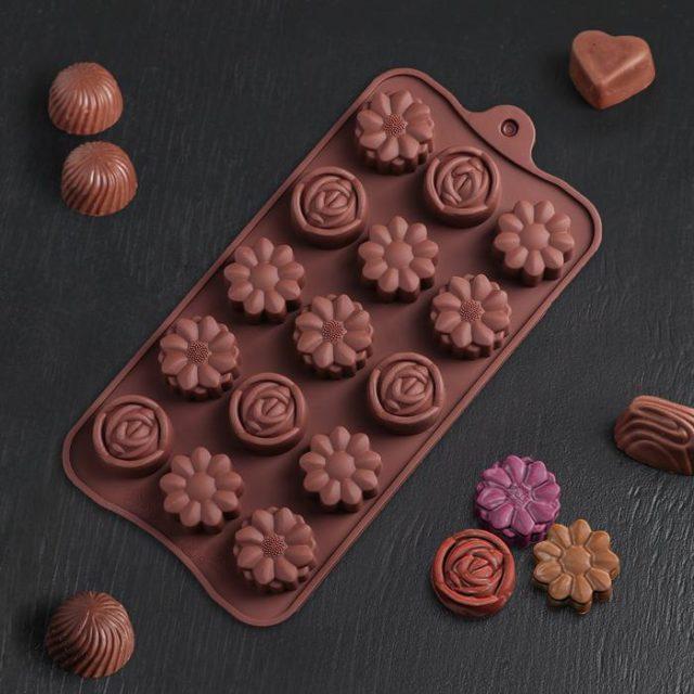 Форма для шоколада «Ассорти»
