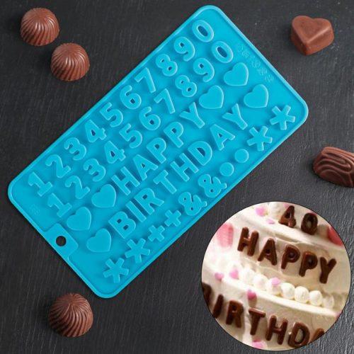 Форма для шоколада «С Днем рождения»