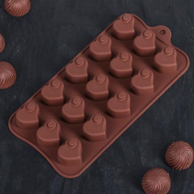 Форма для шоколада «Сердцеедка»