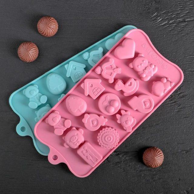 Форма для шоколада «Счастье есть»