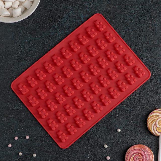 Форма для шоколада и мармелада «Сладкие мишки»