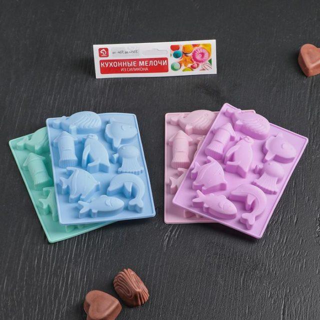 Форма для шоколада «Морская»