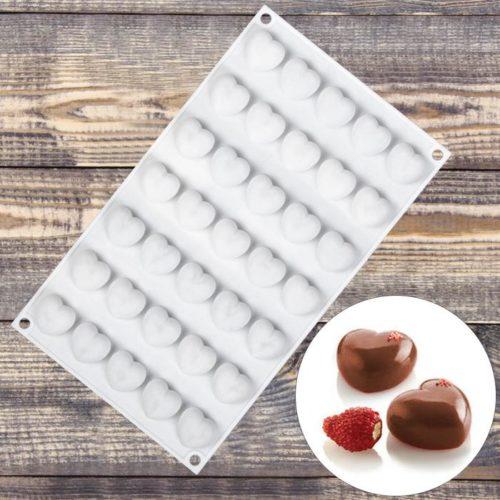 Форма для шоколада «Сердца»