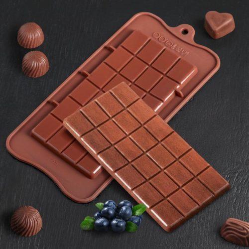 Форма для шоколада «Плитка»