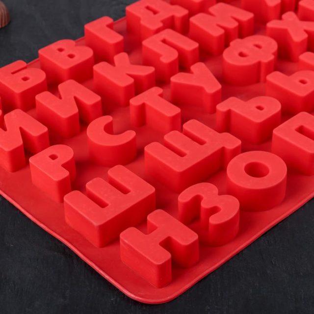 Форма для шоколада «Русский алфавит»