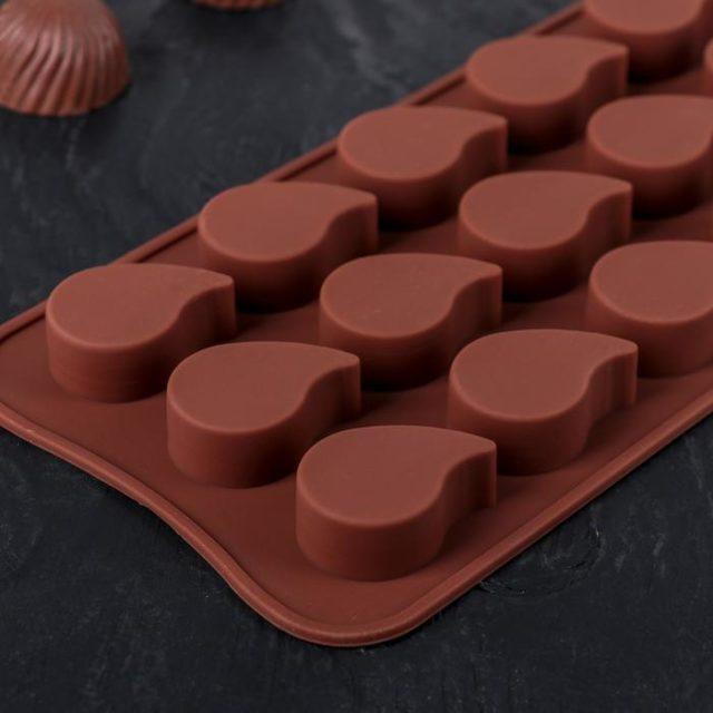 Форма для шоколада «Капелька»