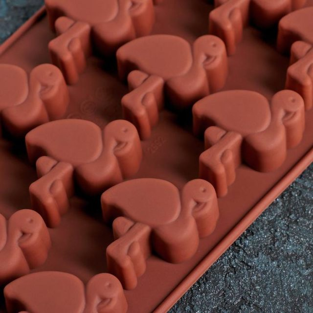 Форма для шоколада «Фламинго»