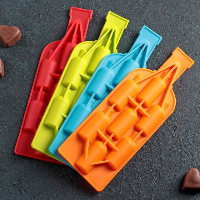 Форма для шоколада «Бутылка»