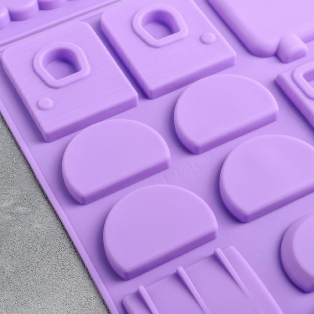 Форма для шоколада 3D «Поезд»