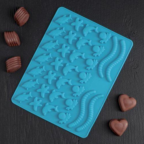 Форма для шоколада «Морские сладости»