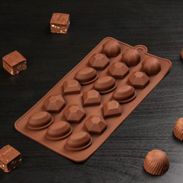 Форма для шоколада «Огранка»
