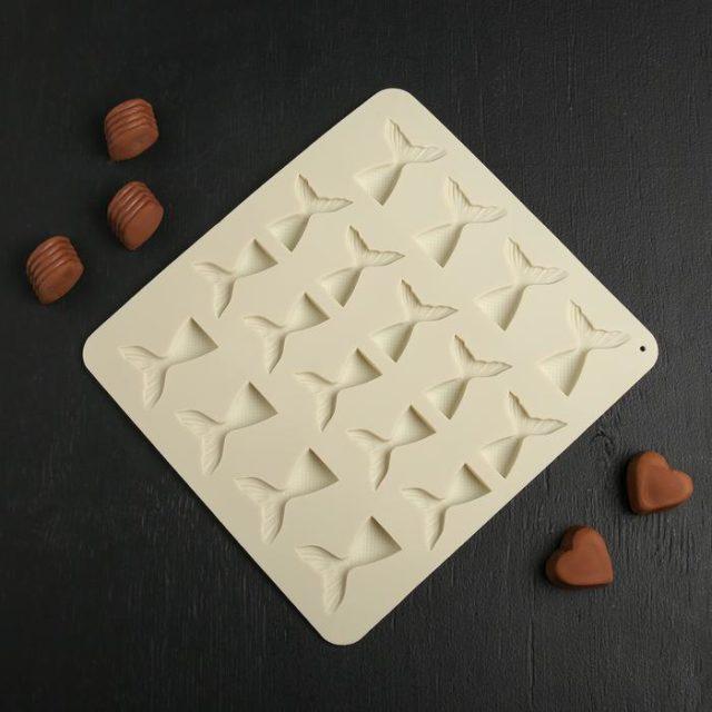 Форма для шоколада «Хвост»