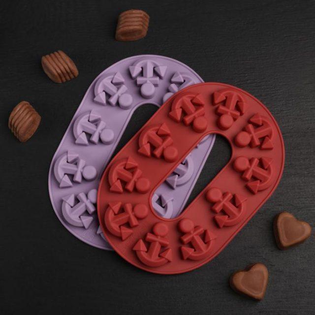 Форма для шоколада «Якорь»