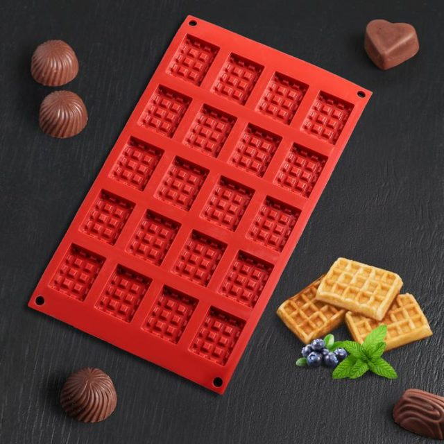 Форма для шоколада «Вафли»