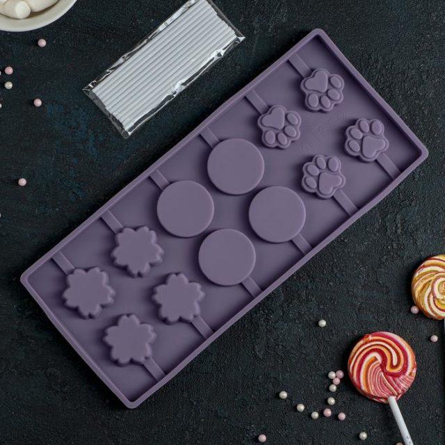 Форма для леденцов «Вкусная сладость»