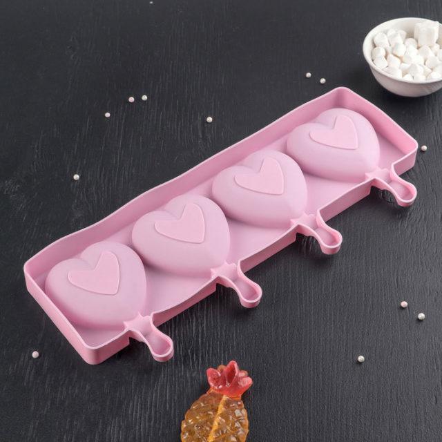 Форма для мороженого «Сердца»