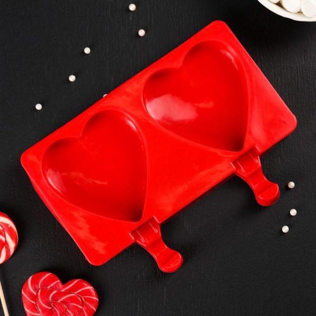 Форма для мороженого «Сердечко»