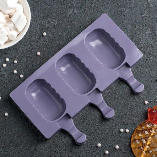 Форма для мороженого «Эскимо волна»