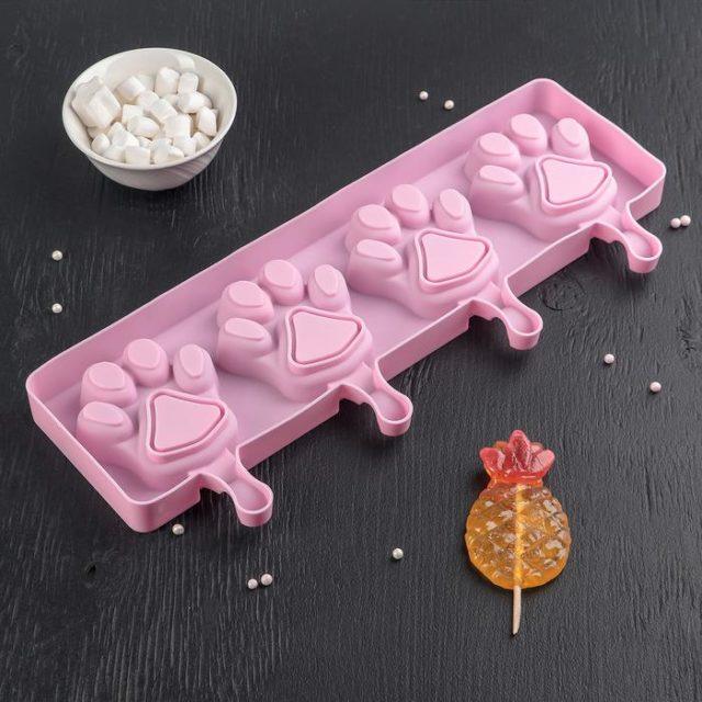 Форма для мороженого «Лапки»