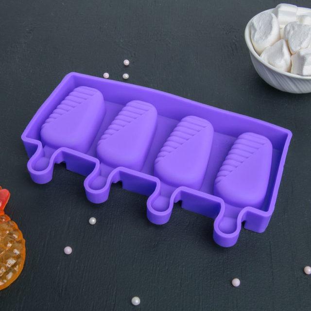 Форма для мороженого «Эскимо в глазури»