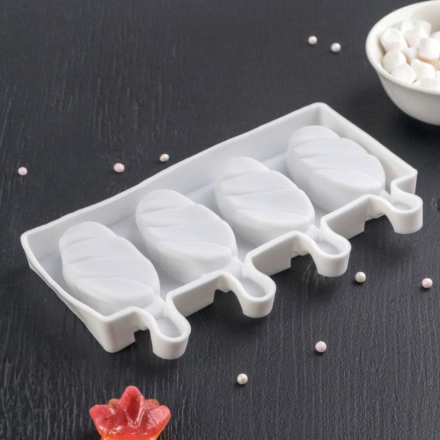 Форма для мороженого «Клубника со сливками»