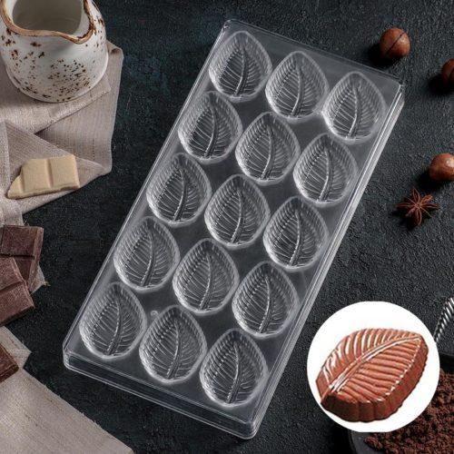 Форма для шоколада «Листва»
