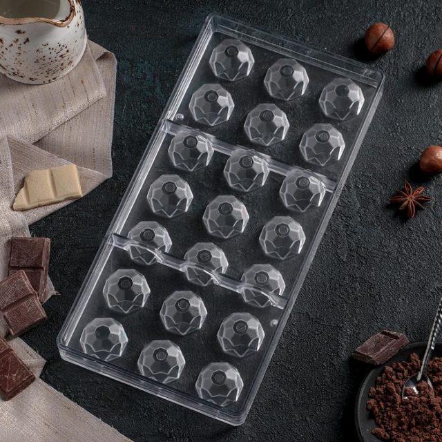 Форма для шоколада «Бриллиант»