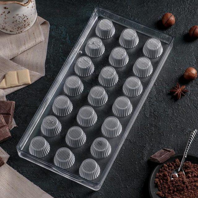 Форма для шоколада «Конфетти»