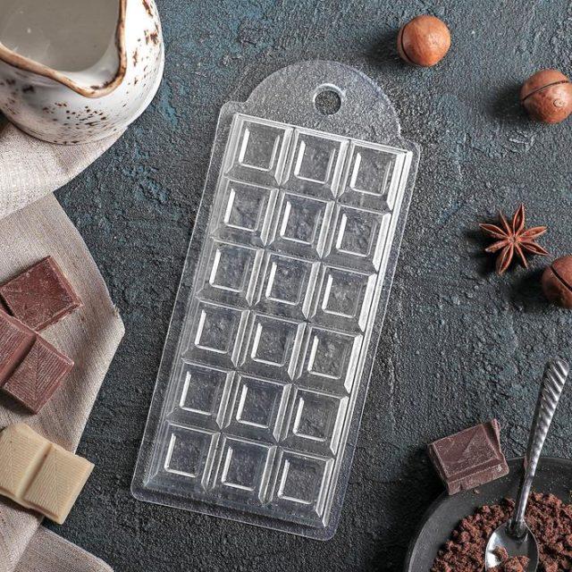 Форма для шоколада «Шоколад традиционный»
