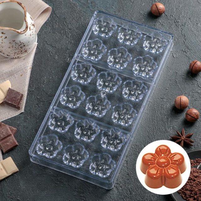 Форма для шоколада «Цветок»