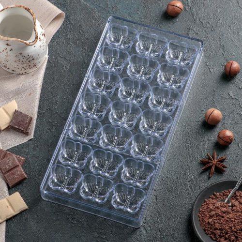 Форма для шоколада «Бабочки»