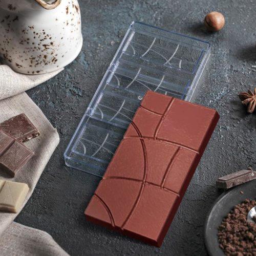 Форма для шоколада «Плитки»