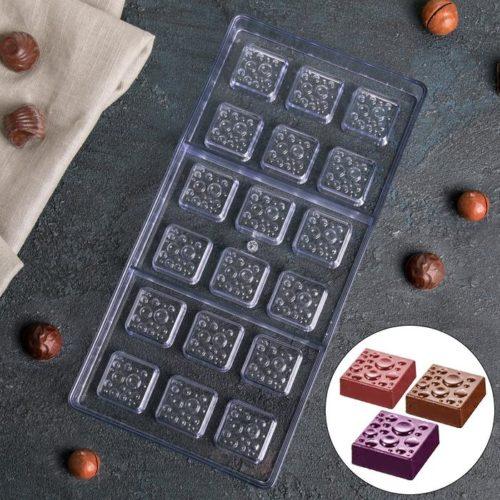 Форма для шоколада «Пористые шоколадки»