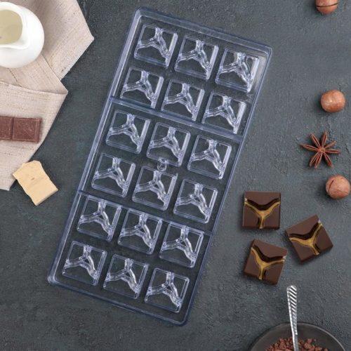 Форма для шоколада «Рубин»
