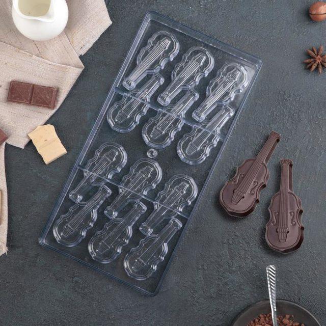 Форма для шоколада «Скрипка»