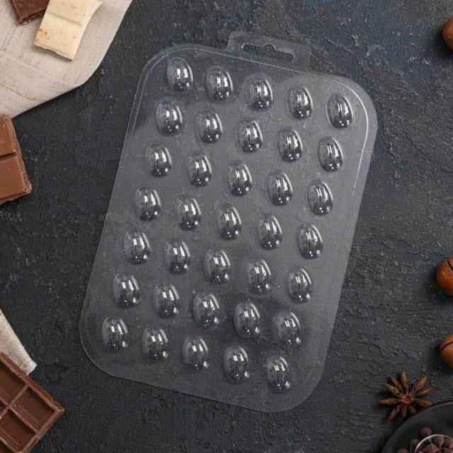 Форма для шоколада «Кофейные зёрна»