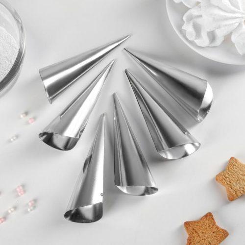 Набор форм для круассанов и трубочек 11×3 см