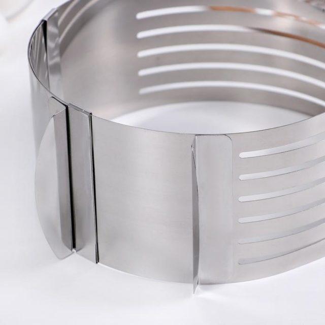 Кольцо раздвижное для выпечки H=8,5 см D=16-20 см