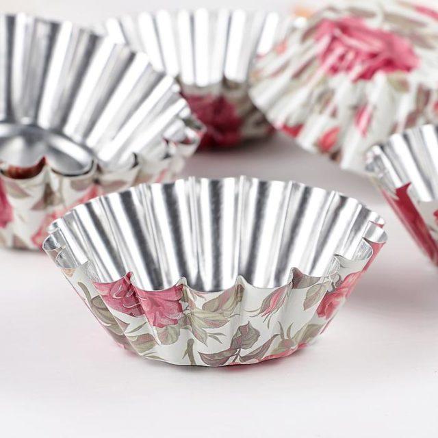 Набор форм для выпечки кексов Бутон Розарий