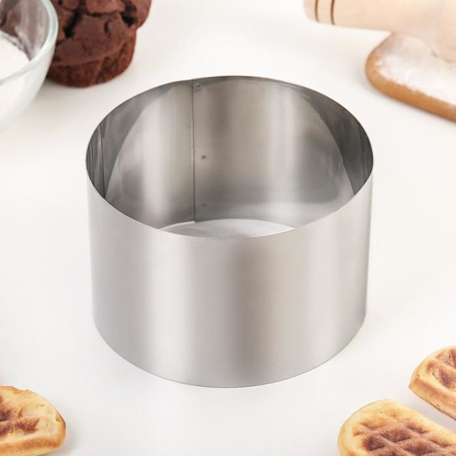 Кольцо для выпечки H=8 см D=12 см