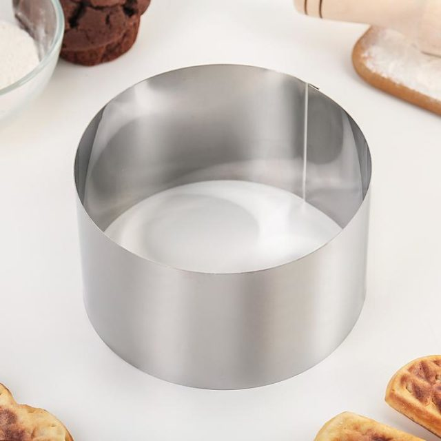 Кольцо для выпечки H=8 см D=14 см