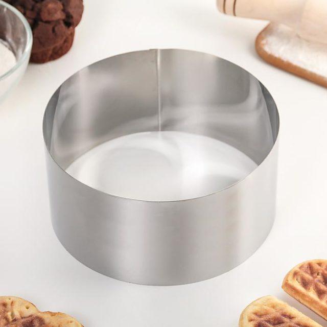 Кольцо для выпечки H=8 см D=16 см