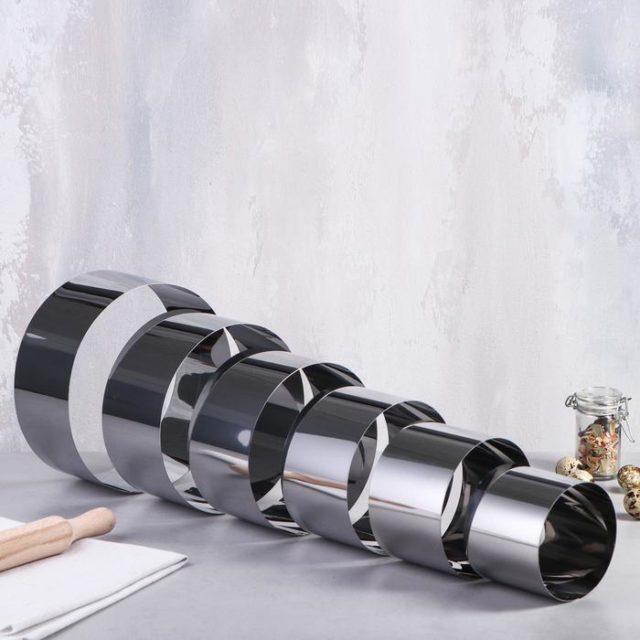 Набор колец для выпечки D=8-20 см H=8,5 см