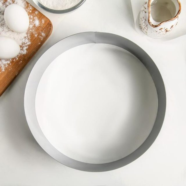 Кольцо для выпечки H=8 см D=24 см