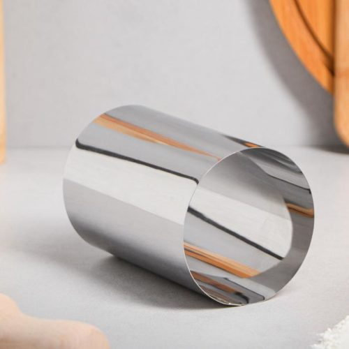 Кольцо для выпечки H=12 см D=8 см