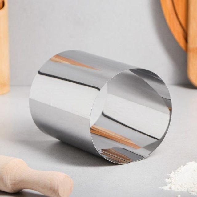 Кольцо для выпечки H=12 см D=10 см