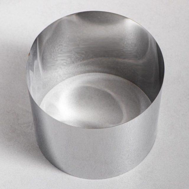 Кольцо для выпечки H=12 см D=12 см